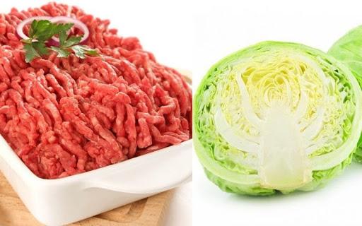 Cải bắp cuộn thịt