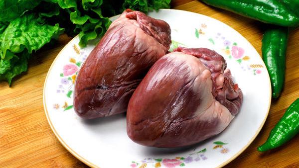 Cách chọn tim lợn tươi