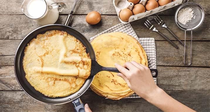 hướng dẫn làm bánh crepes sầu riêng
