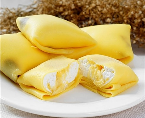 Cách làm bánh crepes sầu riêng thơm ngon hấp dẫn