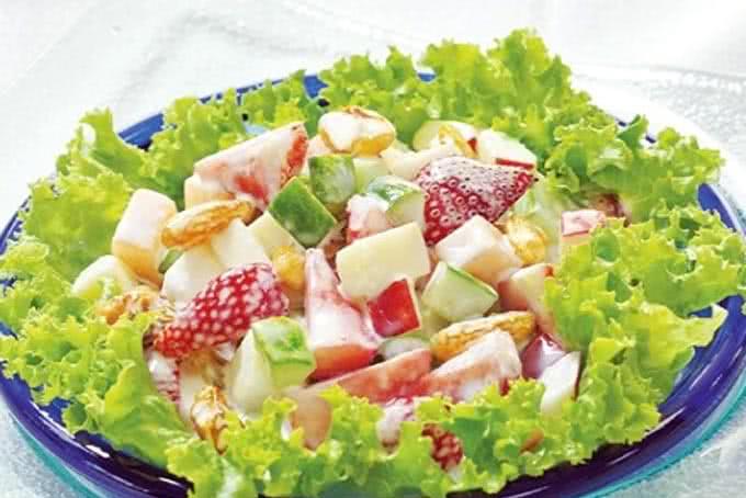 salad hoa quả