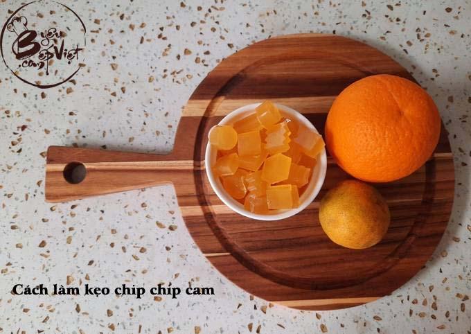 Cách làm kẹo chip chip cam