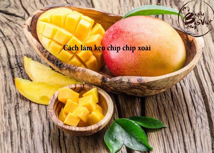 Cách làm kẹo chip chip xoài