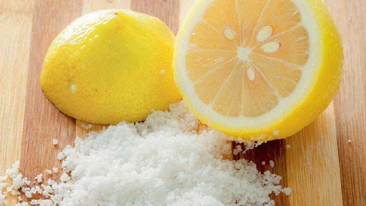 Sơ chế bằng muối và chanh