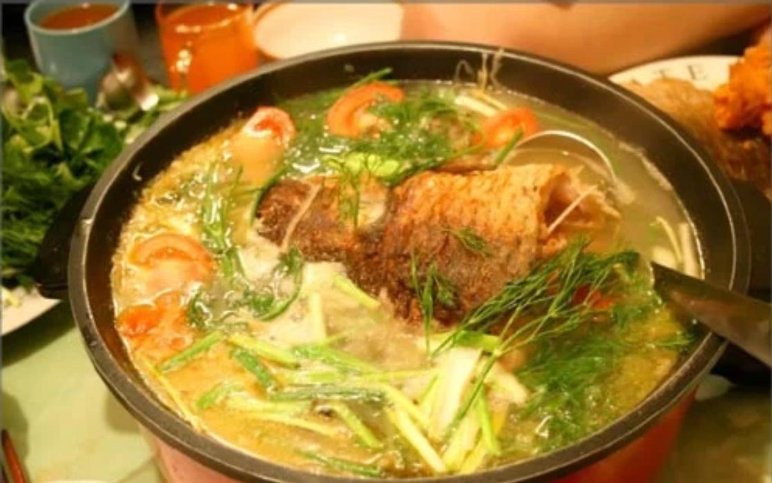 Canh cá nấu dưa - các món canh ngon mùa đông